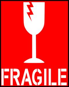 Fragile Red Clip Art at Clker.com.