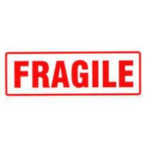 Free Clipart Fragile Label.