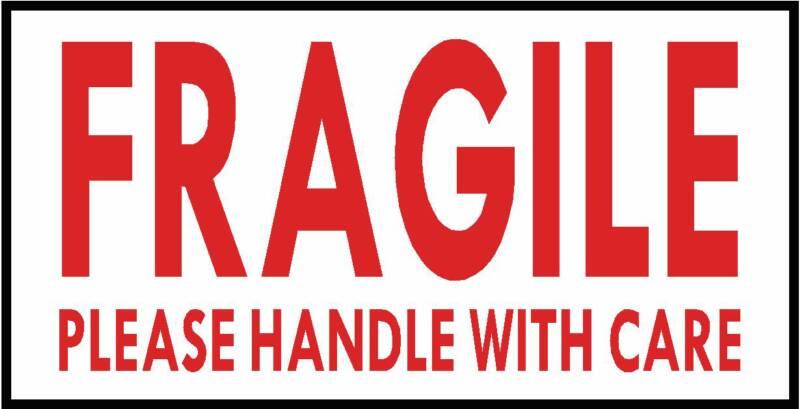 Fragile Symbol.