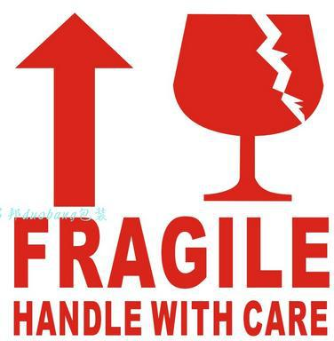 Aliexpress.com : Buy 70*50mm fragile tag label stickers fragile.