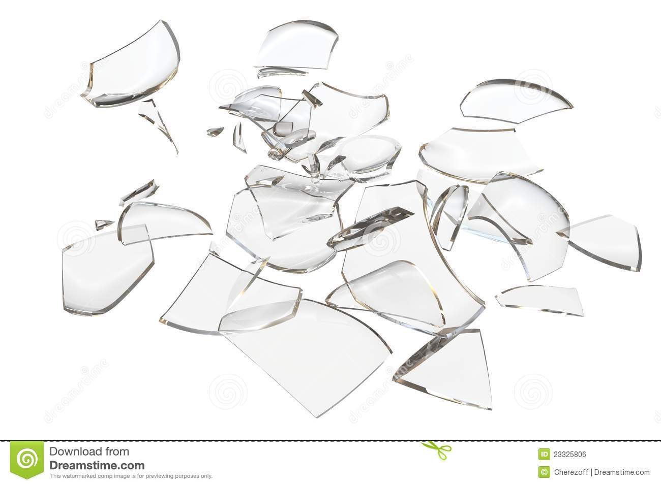 Fragments clipart.