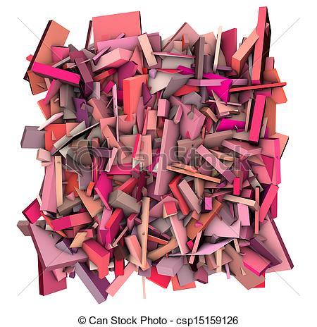 Fragmentation clipart.