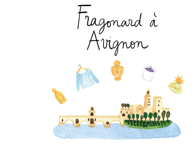 Avignon Fragonard shop.