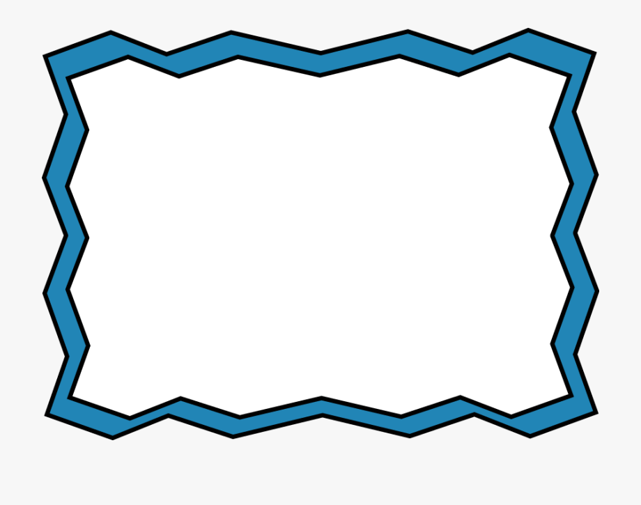 Simple Frame Border Clipart.