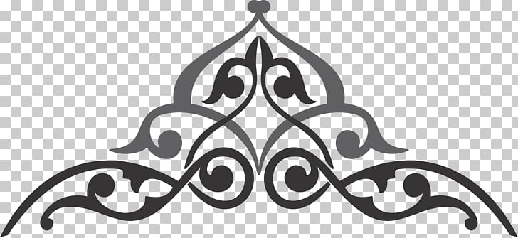 Islamic calligraphy Ornament Frames, batik, banner.