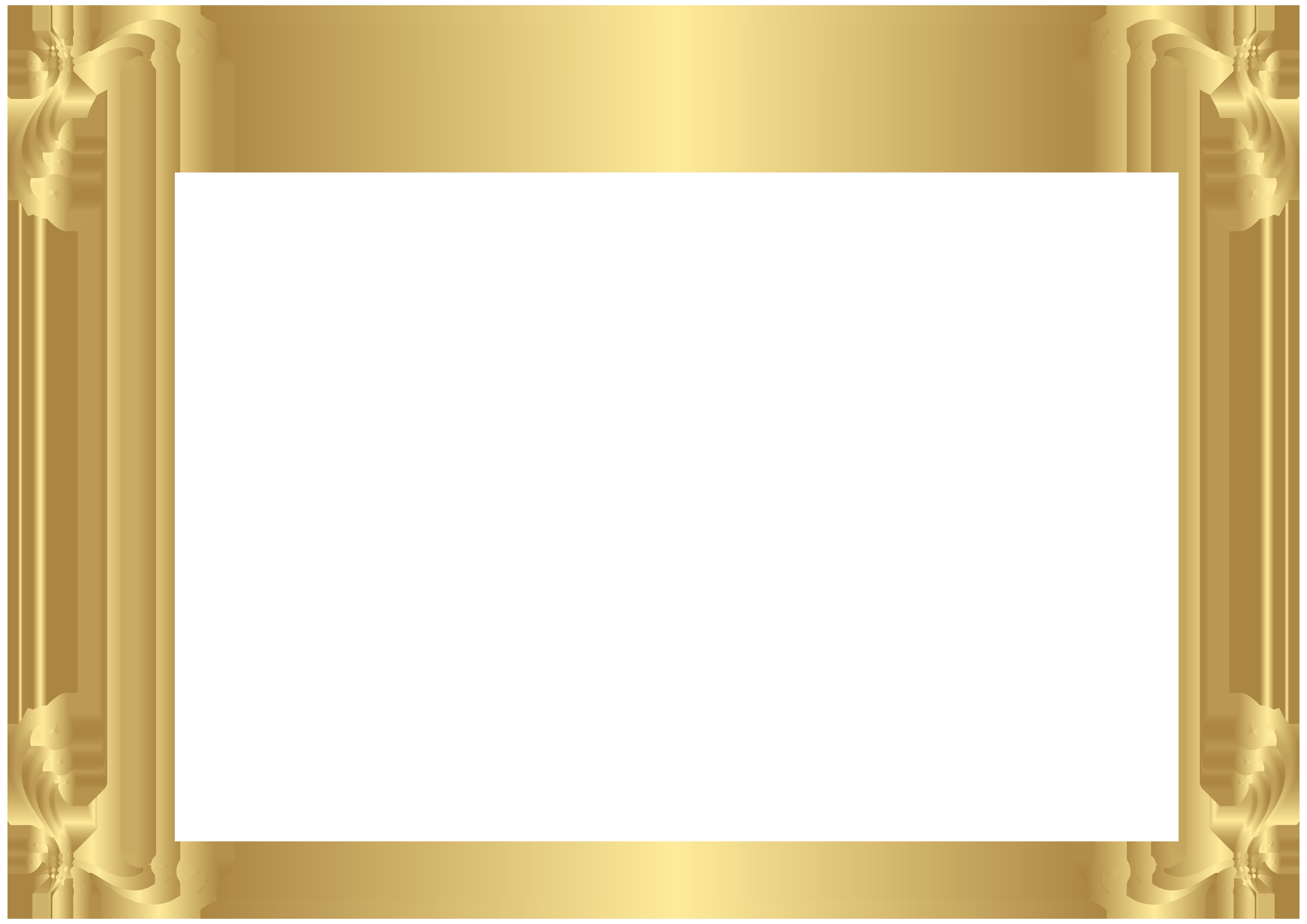 Frame Border Clip Art PNG Image.