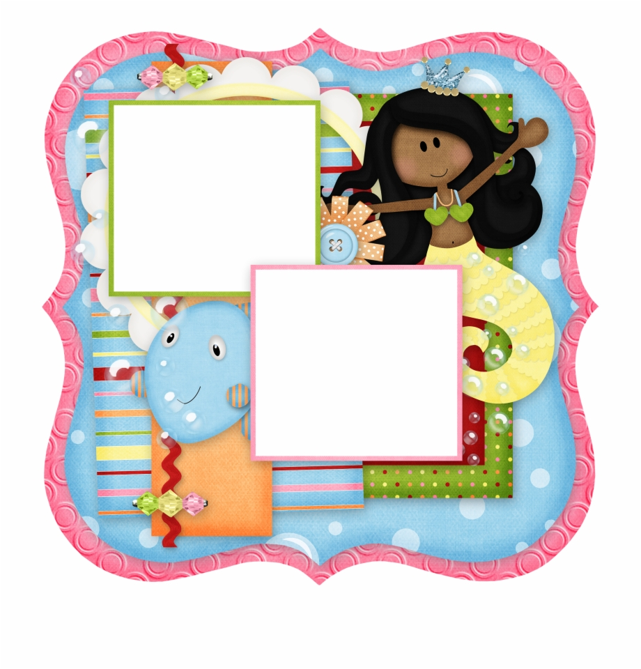 Toy Picture Frames Cartoon Pink Picture Frame Png.