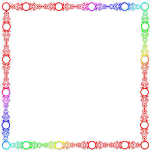 frame clipart color clipground Pink Circle Frame Clip Art Circle Frame Border Clip Art