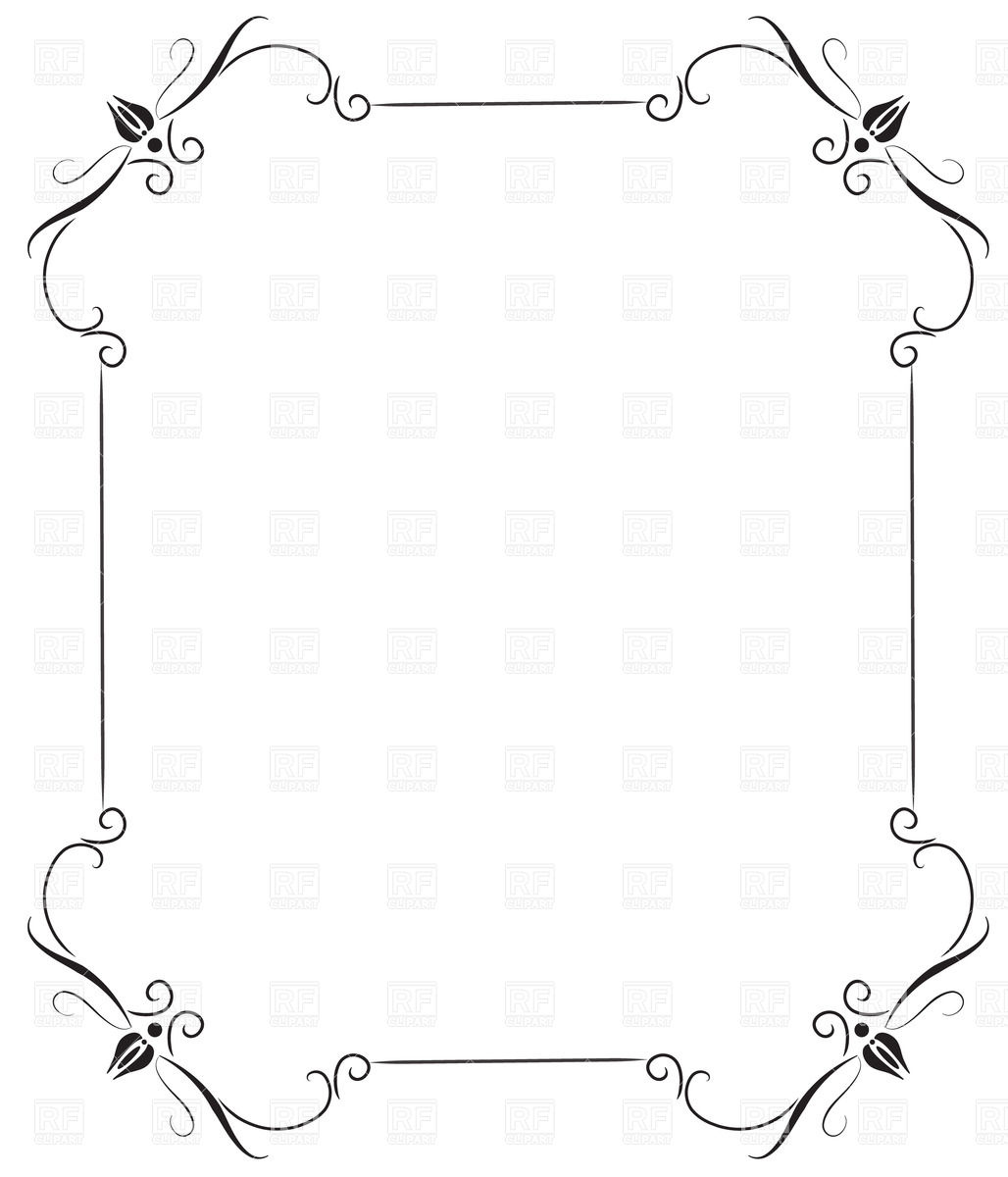 Vintage Frame Clipart for Free Download.