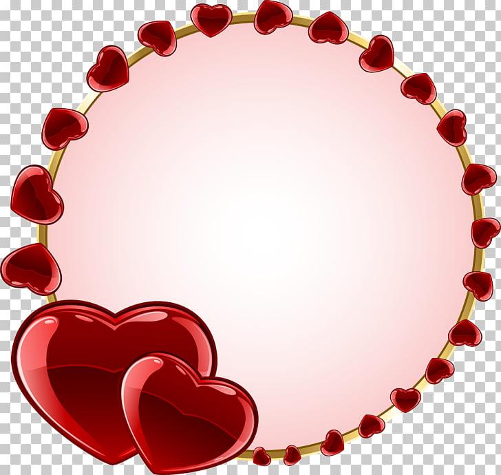 Frames Heart , love frame PNG clipart.