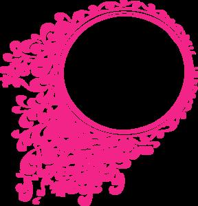 Pink Elegant Frame Clip Art.