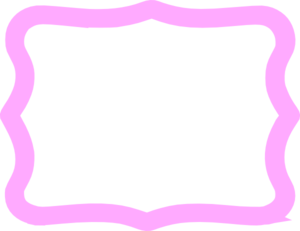 Thick Pink Frame Clip Art at Clker.com.