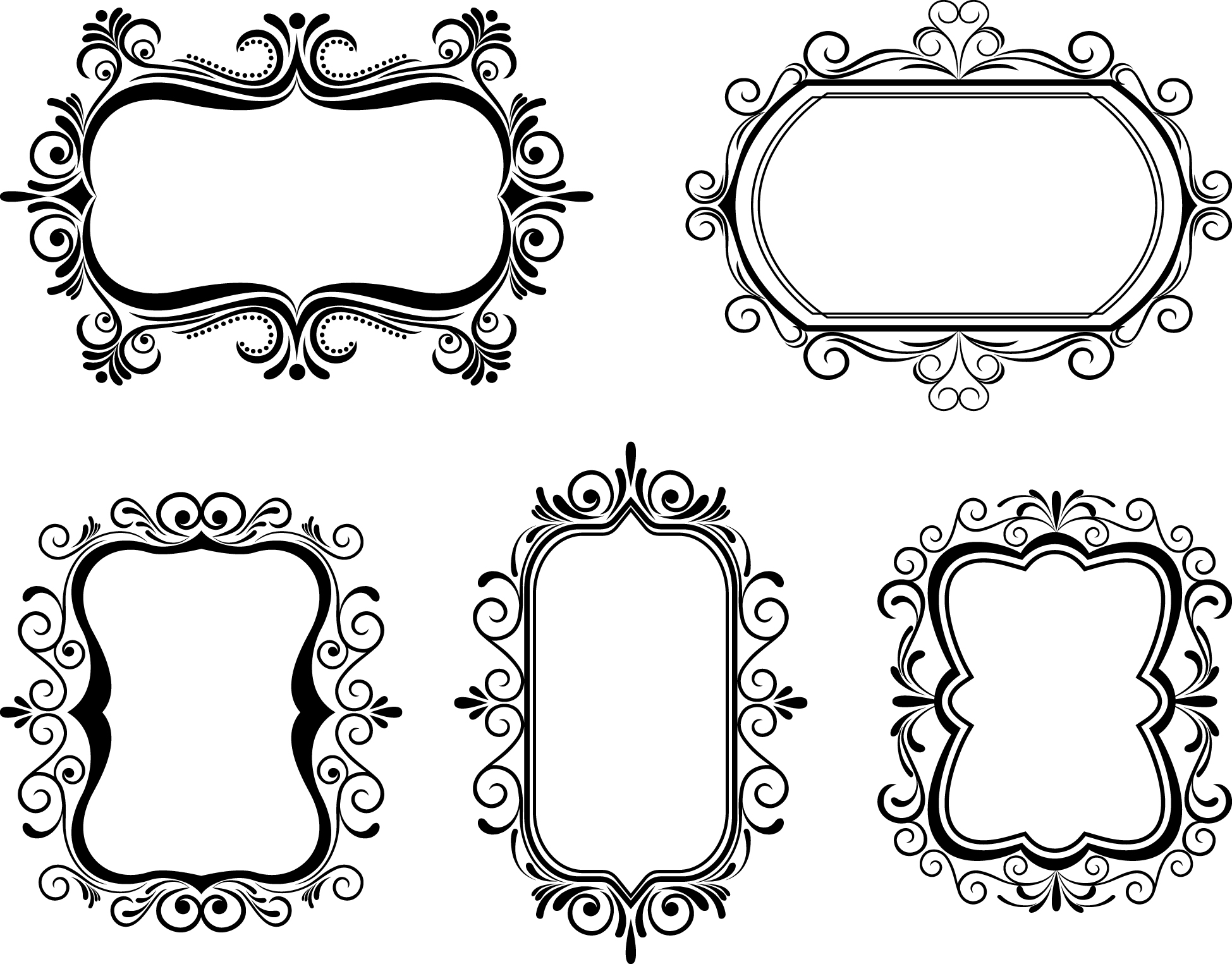 Free Vector Borders, Download Free Clip Art, Free Clip Art.