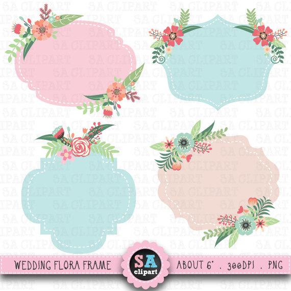 Wedding FrameClipart