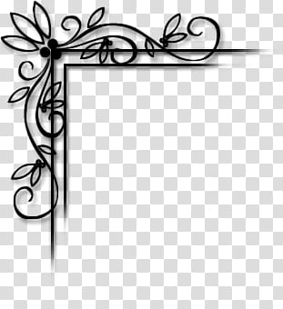 Corner transparent background PNG cliparts free download.