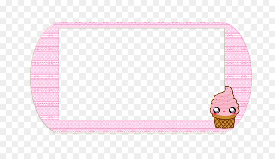 Pink Background Frame png download.