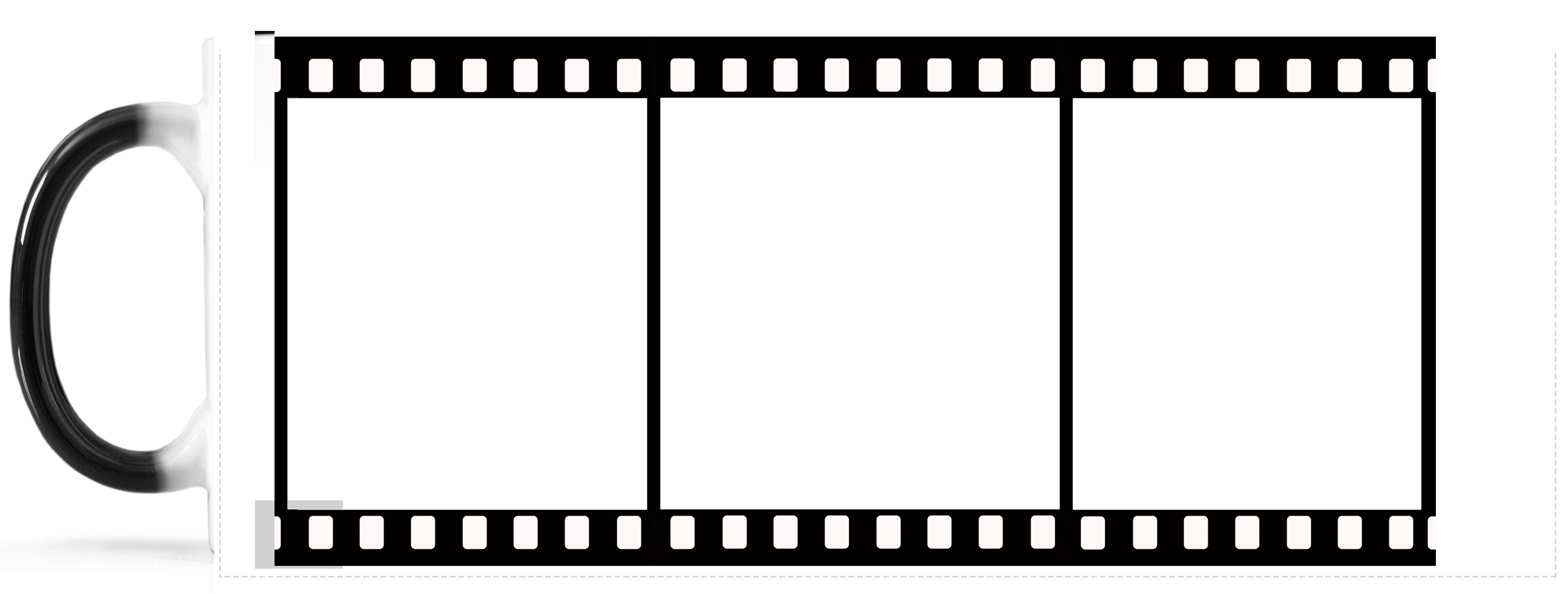 Film Reel Border Png Kodak Film Frame Png.