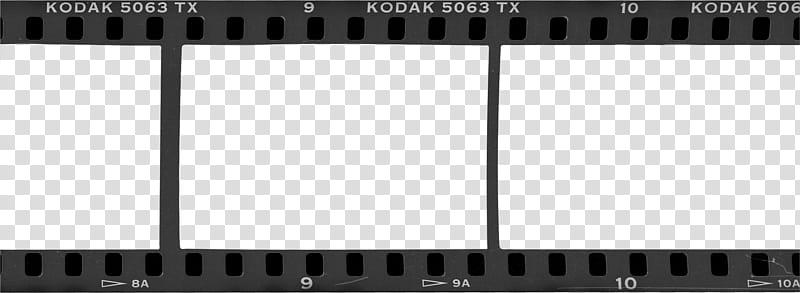 Film Borders FRAMES, film reel illustration transparent.