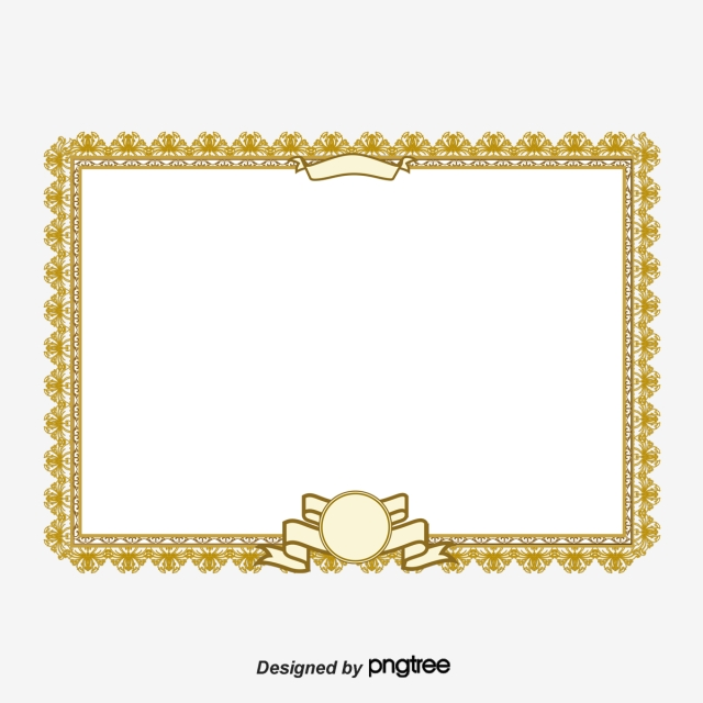 Certificate Lace, Certificate, Lace, Frame PNG and Vector for Free.