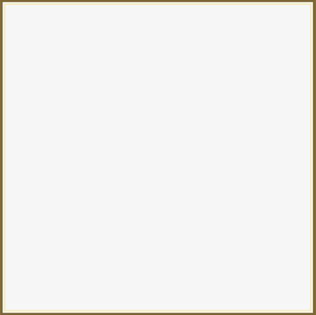 Golden Line Frame PNG, Clipart, Atmosphere, Border, Border Texture.