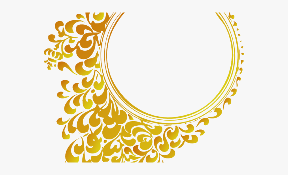 Rope Clipart Golden Circle.