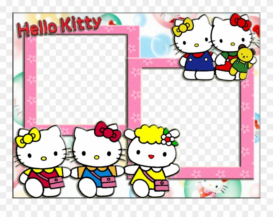 Hello Kitty Photo Frame Wallpaper Full Hd Clipart (#2727432.