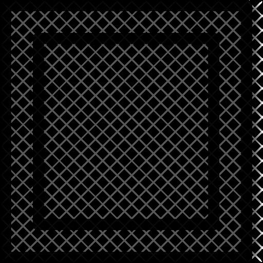 Square frame Icon.