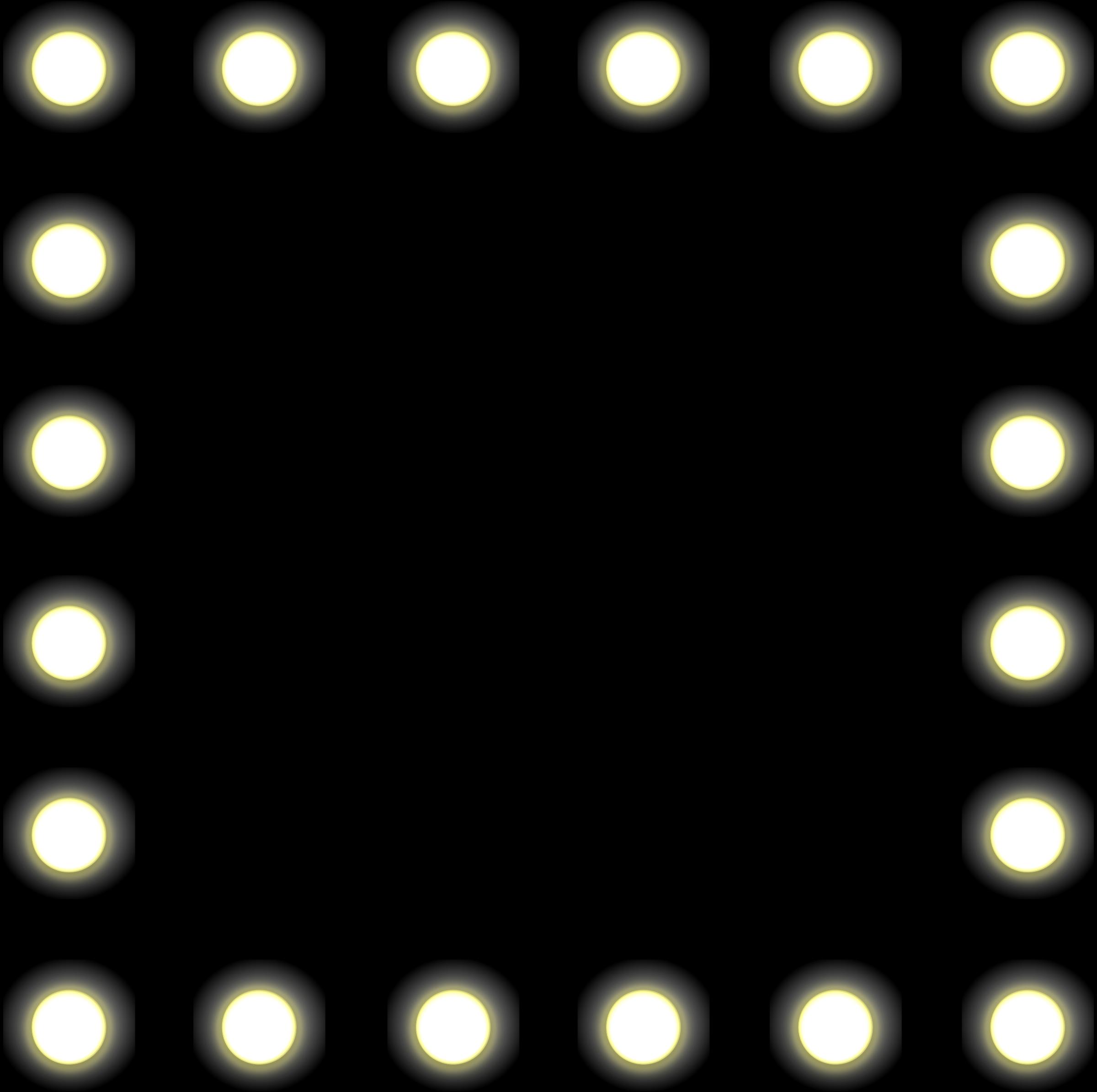 Light Bulb Frame Clipart.