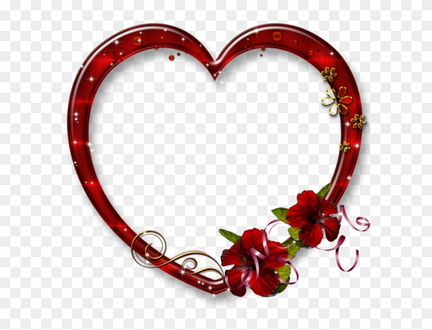 Red Photo Frames, Clean Heart, Heart Gif, Gold Background,.