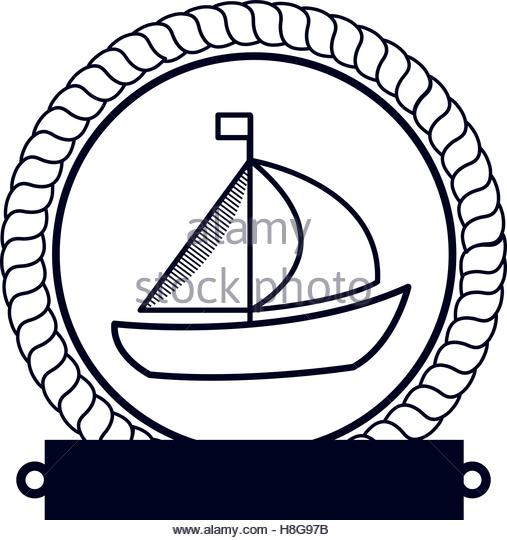 Border Design Sailboat Illustration Stock Photos & Border Design.