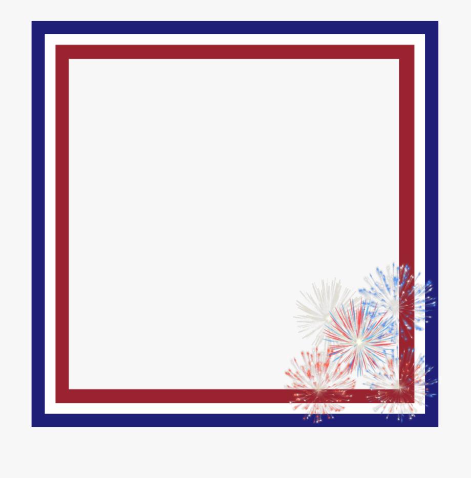 frame #overlay #fireworks #border #4thofjuly.