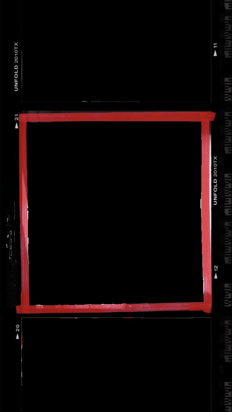 HD Overlay Polaroid Frame Png, Polaroid Template, Overlays.