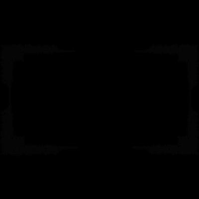 Victorian Black Frame transparent PNG.