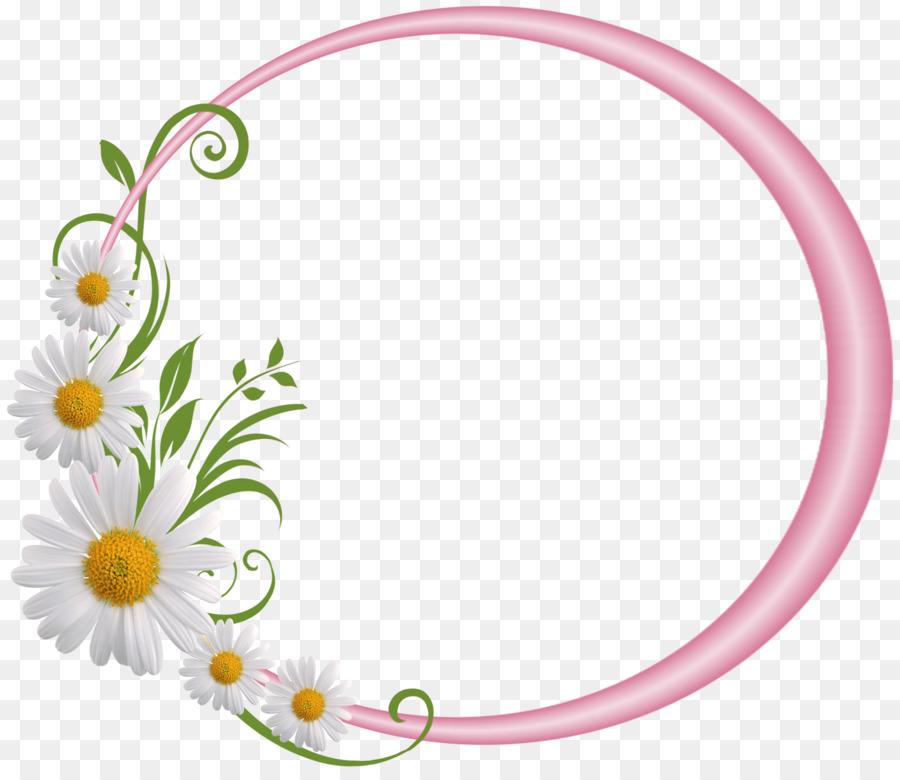 Pink Flower Cartoon png download.