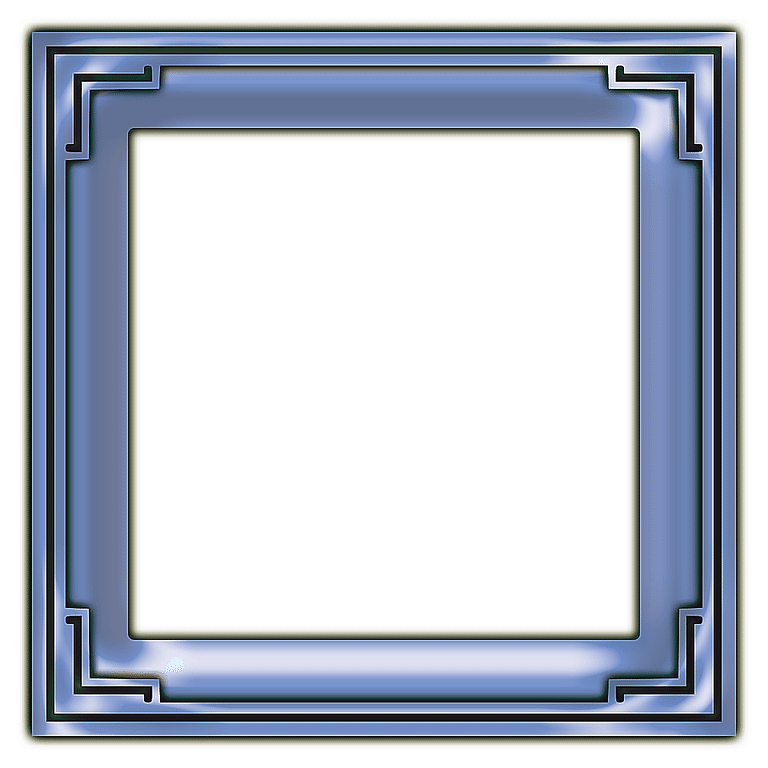 Download Square Frame Transparent Background HQ PNG Image.
