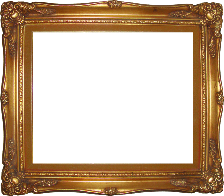 Download Free High quality Frame Gold Png Transparent Images #28904.