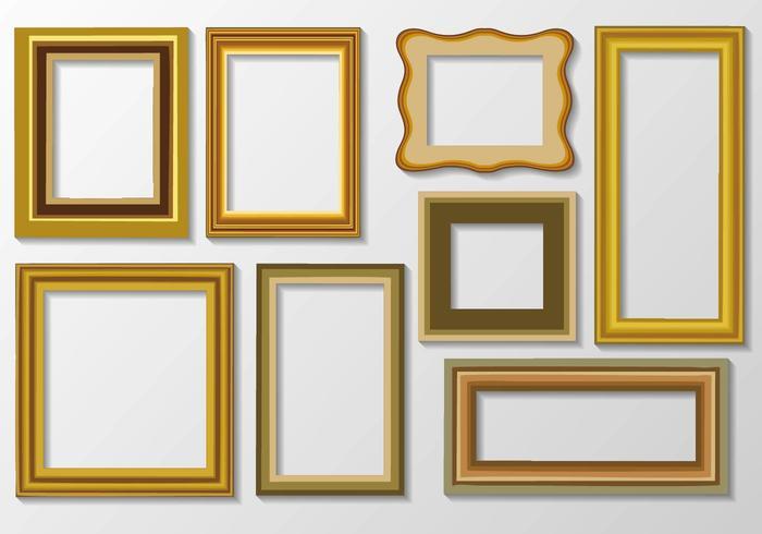 Photo or Art Frame Vector.