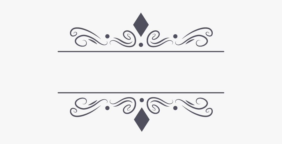 Decorative Frame Vector Png Peoplepngcom.