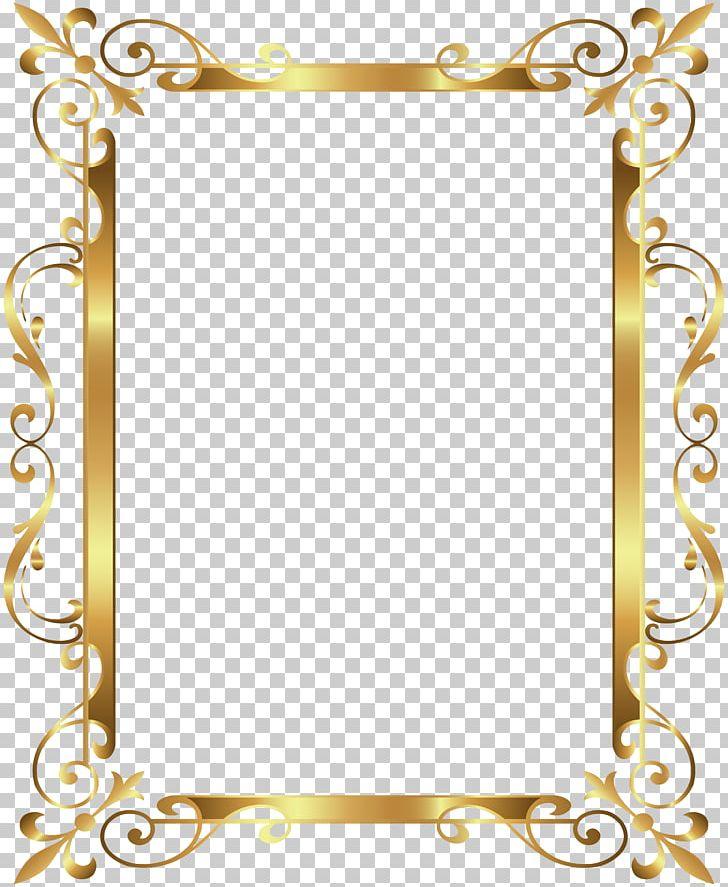 Gold Frame PNG, Clipart, Border, Border Frame, Cdr, Clip Art.