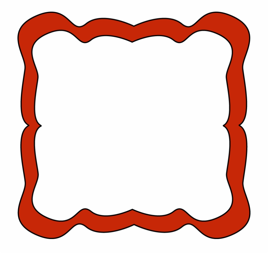 Red Clip Art Borders.