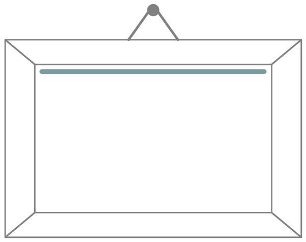 Painting Frame Clipart.