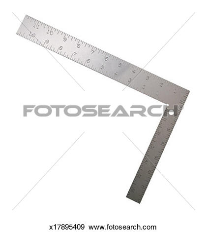 Stock Photograph of Framing Square x17895409.