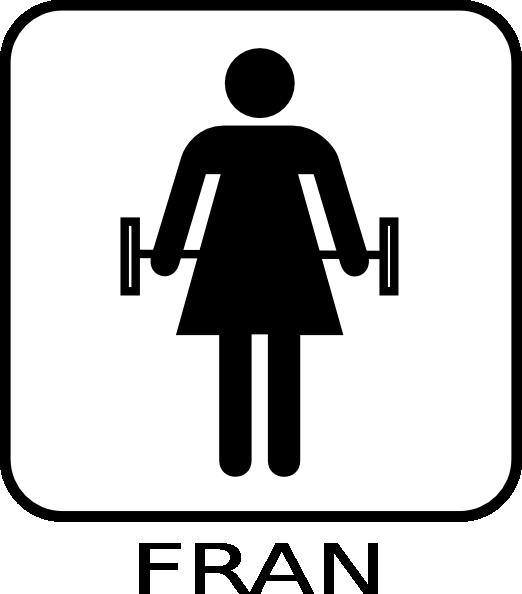 Fran Fun Fitness Clip Art at Clker.com.