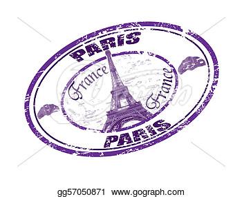 Clip Art France Stamp Clipart.