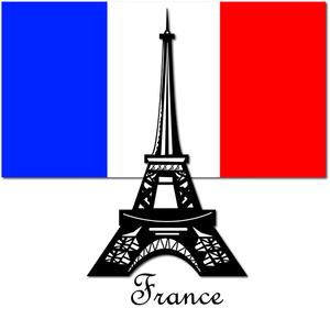 Clipart France Eiffel Tower.