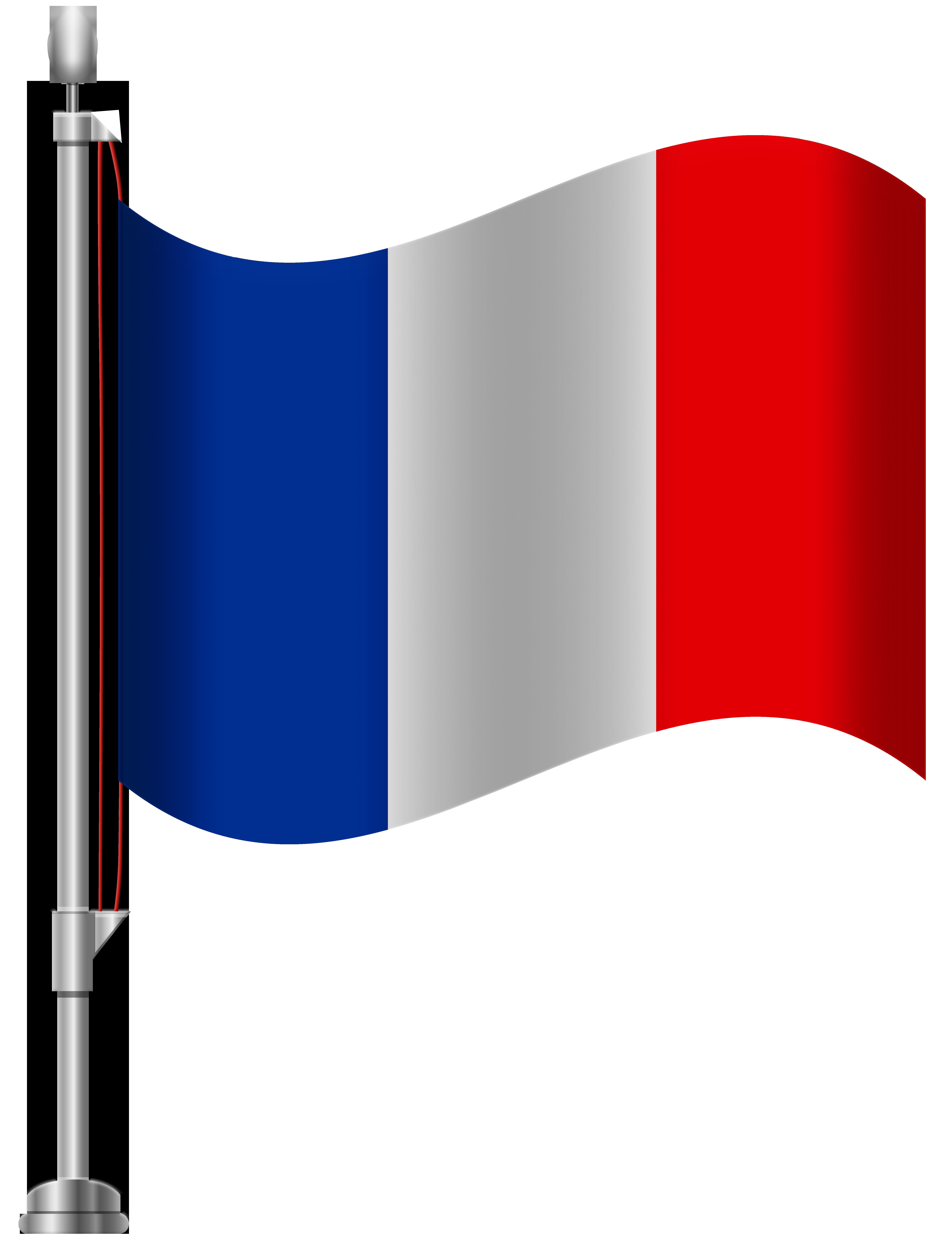 France Flag PNG Clip Art.