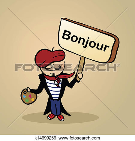 france people clipart #15