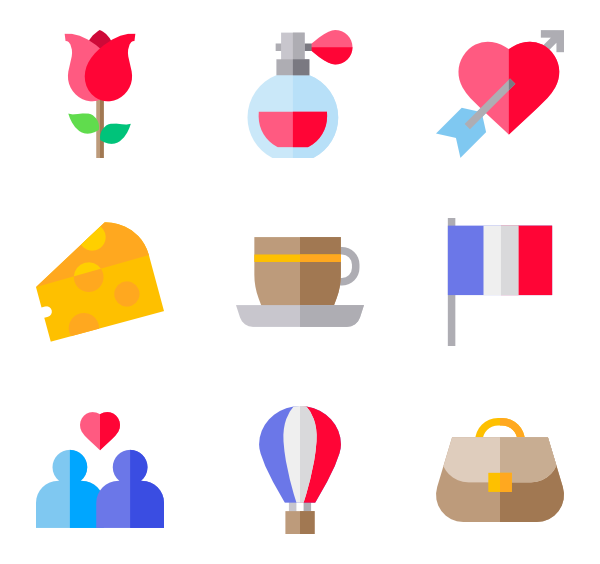 21 france icon packs.