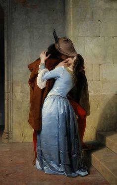 FRANCESCO HAYEZ. El beso. 1859..