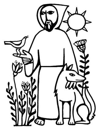 Saint Francis Clip Art.